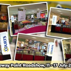Courts: Roadshows at Tampines Mall & Orchard Atrium
