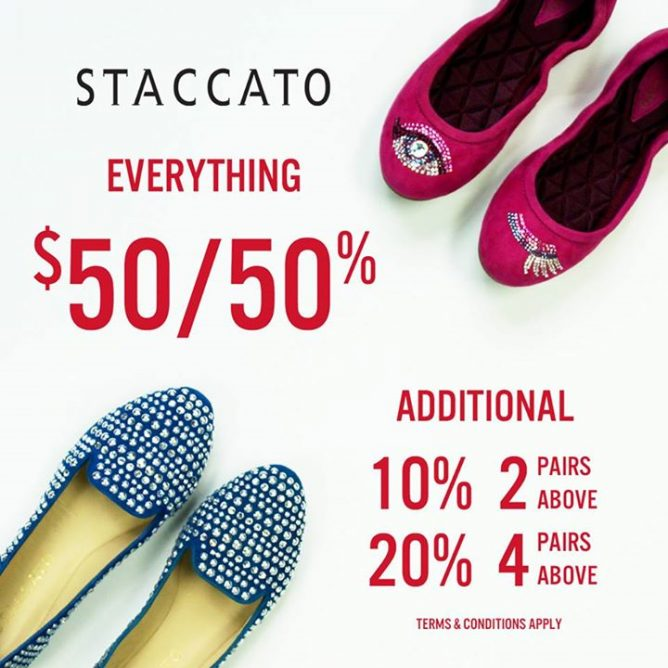 Staccato  Great Shoes Sale - Everything  50   50% OFF - 👑BQ.sg ... db11887d76