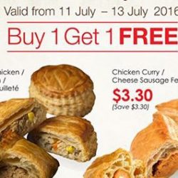 Cheers: Enjoy 1 for 1 Delifrance Treat at Selected Cheers Stores & Esso Stations