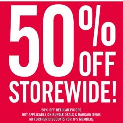 The Paper Stone: Storewide Flash Sales 50% OFF