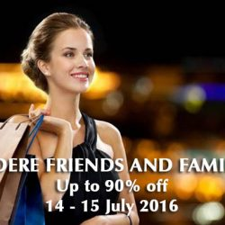 Lagardere: Friends and Family Sale Event Up to 90% OFF + Additional 5% OFF with UOB Cards
