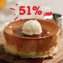 Miam Miam French.Japanese Cafe.Kitchen: Enjoy 51% off any Soufflé Pancakes with order a main & a drink