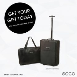 ECCO: Receive this exclusive foldable travel luggage with min. spend of $450