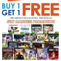 GameMartz: Buy 1 Get 1 FREE Selected Games