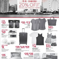 John Little: National Day Sale-Abration Up to 20% OFF Regular-Priced Items