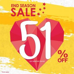 Bossini: End Season Sale 51% OFF Selected Items