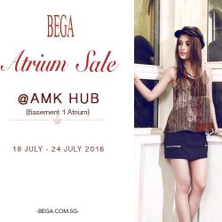 BEGA: Atrium Sale at AMK Hub