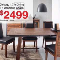 Picket & Rail: Up to 50% off All Wood Dining Sets
