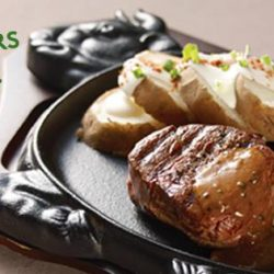 Jack's Place: $19.90 Black Pepper Tenderloin Steak Promotion on Weekdays