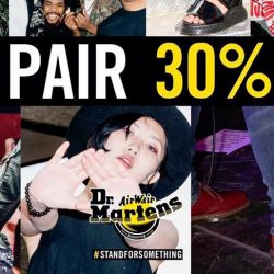 Dr Martens: Get a 2nd Pair of Dr Martens at 30% OFF!