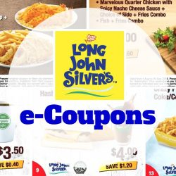 Long John Silver's: 18 e-Coupons to save more!