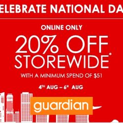Guardian: Coupon Code for 20% OFF Storewide Online