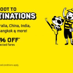 FlyScoot: Exclusive UOB Promo Code for 20% OFF All Scoot Destinations!
