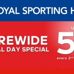 Royal Sporting House: Storewide National Day Special Up to 51% OFF Every 2nd Item Purchased