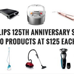 Philips: 125th Anniversary Sale - 10 Products at $125 Each