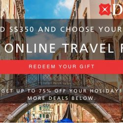DBS: Online Travel Fair Up to 75% OFF over 80 Deals
