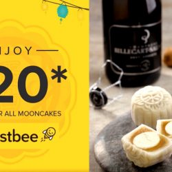 Honestbee: Coupon Code for $20 OFF Mooncakes