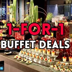 UOB Cards: 1-for-1 Buffet Deals