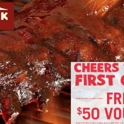 Outback Steakhouse: Grab your free $50 E-Voucher now!