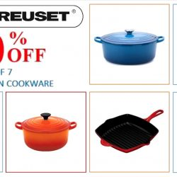 Le Creuset: Vibrant Weekend Specials - 50% OFF 7 Top Sellers of Cast Iron Cookware