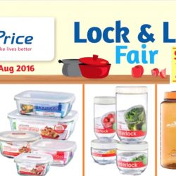 NTUC FairPrice: Lock & Lock Fair Up to 39% OFF