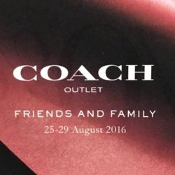 Coach IMM Outlet: Friends and Family Sale Up to 70% OFF + Additional 10% OFF with Invite!