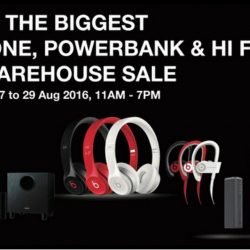 Hwee Seng Electronics: Warehouse Sale Up to 80% OFF Beats, Mophie, Onkyo, Paradigm & More