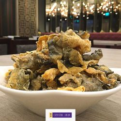 Crystal Jade: Enjoy a Complimentary Salted Egg Yolk Deep-fried Fish Skin at The Centrepoint
