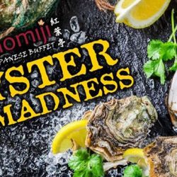 Momiji Japanese Buffet Restaurant: All-You-Can-Eat Fresh Oysters and Snow Crab Legs Japanese Buffet from $40.80++