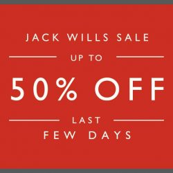 Jack Wills: Last Few Days of Summer Sale Up to 50% OFF