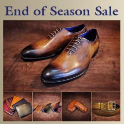 The Bespoke Club: BUY 1 GET 1 FREE Shoes, Belts, Wallets, Cigar Cases & Name Card Holders