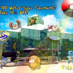 Fish & Co: Get 10% OFF with >100 Water-type Pokemons