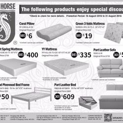 Sea Horse: Special Discounts on Selected Products