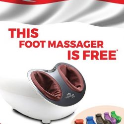 OTO Bodycare: FREE FOOT MASSAGER when you purchase OTO ELVI Chair