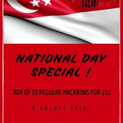 Bonheur Patisserie: National Day Promotion of $51 for a box of 20 Macarons
