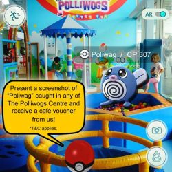 The Polliwogs: Show your Poliwag and FREE Cafe Voucher treat