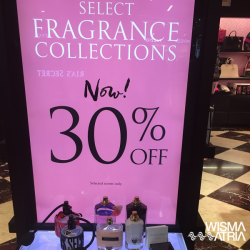 Victoria's Secret: 30% OFF Selected Fragrance Collections