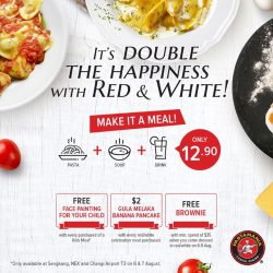 PastaMania: Free Brownie with min. spend of $35