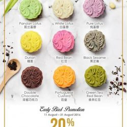 Polar Puffs & Cakes: Early Bird Promotion 20% OFF Mooncakes
