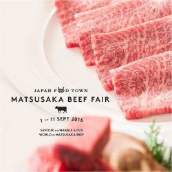Isetan Wisma Atria: Matsusaka Beef Fair at Japan Food Town