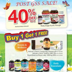 Nature's Farm: Post GSS Sale Up to 40% OFF & Buy 1 Get 1 FREE