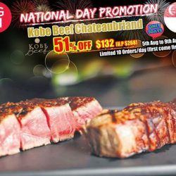 Magosaburo: National Day Promotion Kobe Beef Chateaubriand 51% OFF