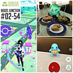 Sakae Sushi: Free Colour Plate with Pokemon GO at Bugis Junction
