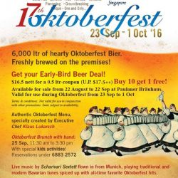Paulaner Brauhaus: Oktoberfest Early-bird Sales