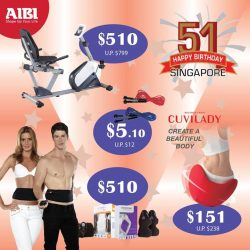 AIBI: Enjoy special deals from $5.10 at AIBI roadshow @Bukit Panjang