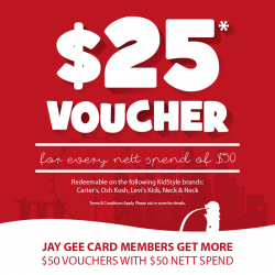 KidStyleSg: Get $25 Voucher when you purchase min. $50