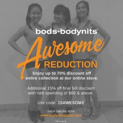 bods.bodynits: Coupon Code for Up to 70% OFF Sitewide