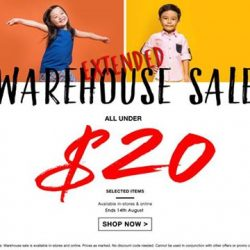 Camouflage Kids: Camouflage Warehouse Sale has been extended!