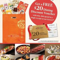 Emporium Shokuhin: FREE $20 Dining Discount Voucher with a min. $60 spend