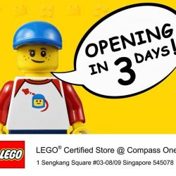 The Brick Shop: Opening Special Promotions at NEW Store @Compass One